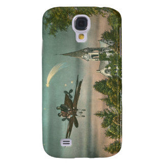 Flying High Over Old Chapel Galaxy S4 Cases