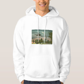 Flying High Over Old Chapel Hoodie