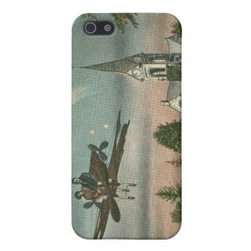 Flying High Over Old Chapel iPhone 5/5S Cases