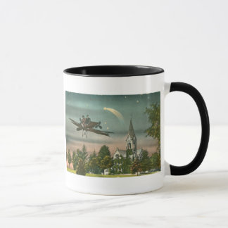 Flying High Over Old Chapel Mug