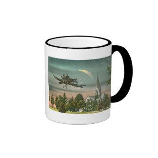 Flying High Over Old Chapel Ringer Mug