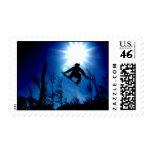 Flying High Postage Stamp