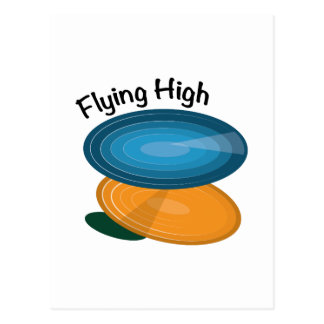 Flying High Post Card