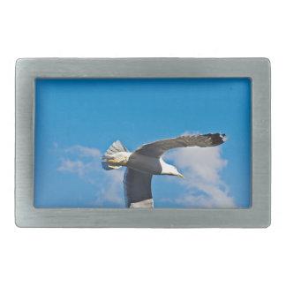 Flying high rectangular belt buckle