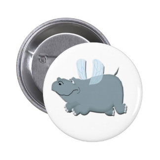 Flying Hippo Button