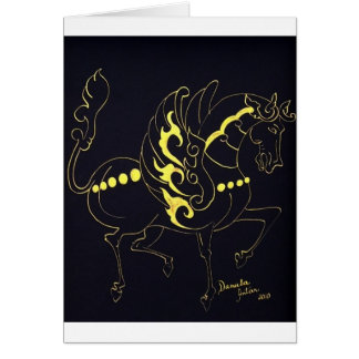 Flying Horse By Daniela Antar Power Card
