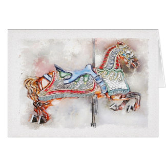 Flying Horse of Venice Greeting Cards