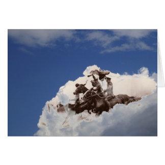 Flying Horsemen Card