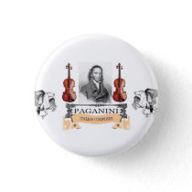 FLYING HORSES OF PAGANINI BUTTON