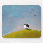 Flying house travel adventure fun unique art mouse pad
