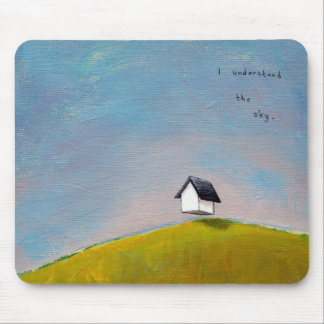 Flying house travel adventure fun unique art mouse pads