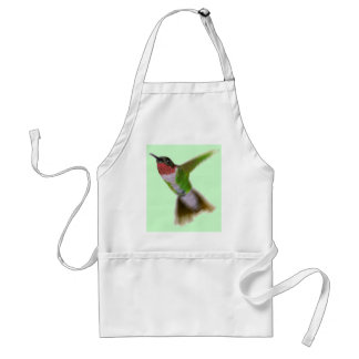 Flying Hummingbird Adult Apron