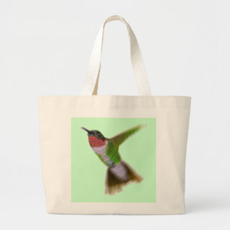 Flying Hummingbird Jumbo Tote Bag