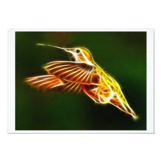 Flying Hummingbird Card
