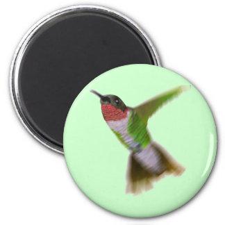 Flying Hummingbird Refrigerator Magnets