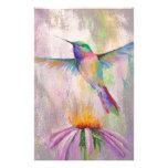 Flying Hummingbird Stationery