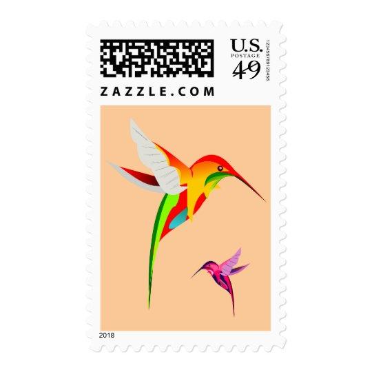 Flying Hummingbirds Postage