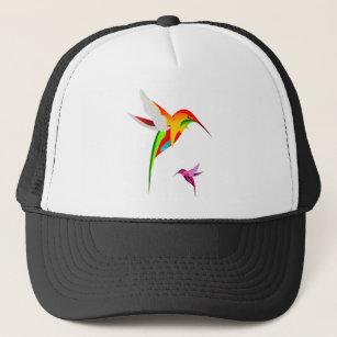 Flying Hummingbirds Trucker Hat 6ffe6f1957d3