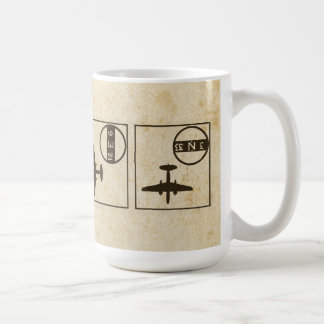 Flying in Different Directions Coffee Mug