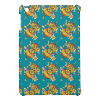 Flying infinity ipad case.psychedelic butterfly case for the iPad mini