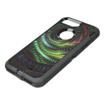 Flying into a Beautiful Deep Dream Fractal Rainbow OtterBox Defender iPhone 8 Plus/7 Plus Case