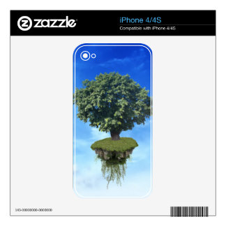 Flying Island iPhone 4S Skin