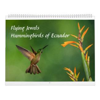 Flying Jewels: Hummingbirds of Ecuador Calendar