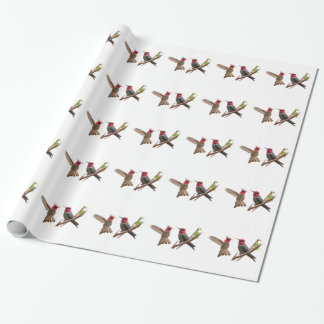 FLYING JEWELS WRAPPING PAPER