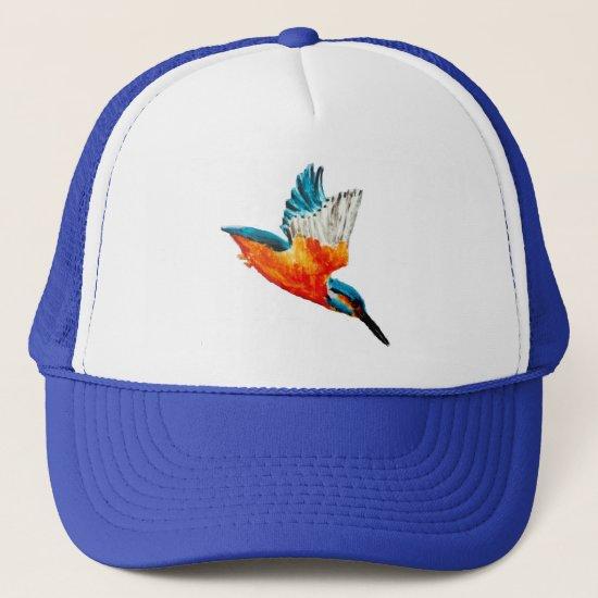Flying Kingfisher Trucker Hat