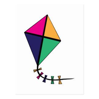 Flying Kite Postcard