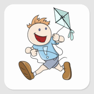 Flying Kite Stickers