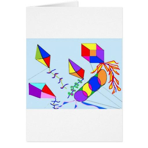 flying-kites card