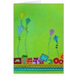 Flying Kites Card