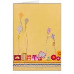 Flying Kites Greeting Cards