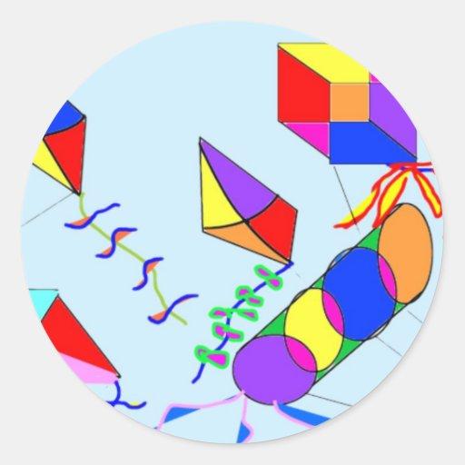 flying-kites stickers