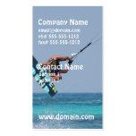 Flying Kitesurfer Double-Sided Standard Business Cards (Pack Of 100)