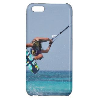 Flying Kitesurfer iPhone 5C Cases