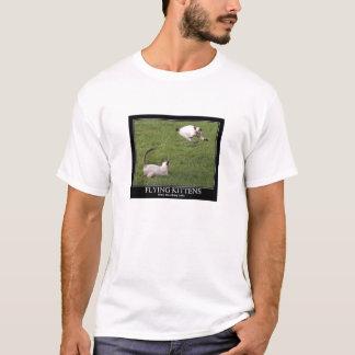 Flying kittens: Better than flying tanks. T-Shirt