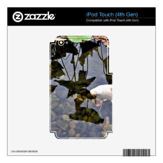 Flying Koi iPod Touch 4G Decal