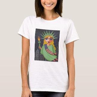 Flying Lady Liberty - t-shirt