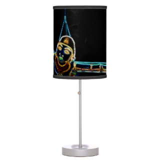 Flying Lady Neon table lamp