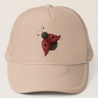 Flying Ladybug Trucker Hat