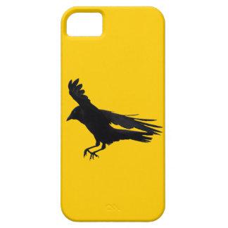 Flying Landing Black Crow Art iPhone SE/5/5s Case