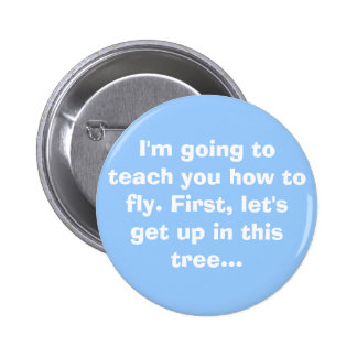 Flying Lessons Pin