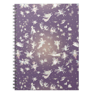 Flying Light Faeries Pattern Note Books