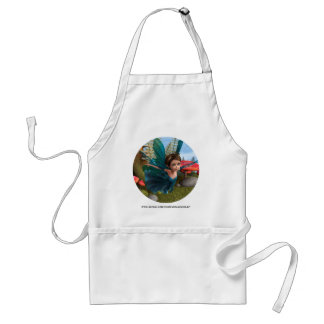 Flying Little Fairy Butterfly Adult Apron