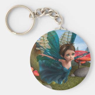 Flying Little Fairy Butterfly Keychain