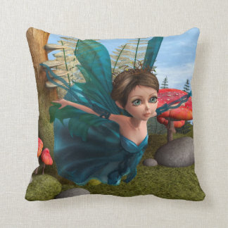Flying Little Fairy Butterfly Pillows