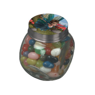 Flying Little Fairy Butterfly Tshirt Jelly Belly Candy Jars