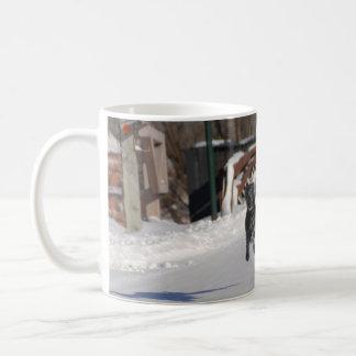 Flying Lurcher Mug | Female Lurcher Dog